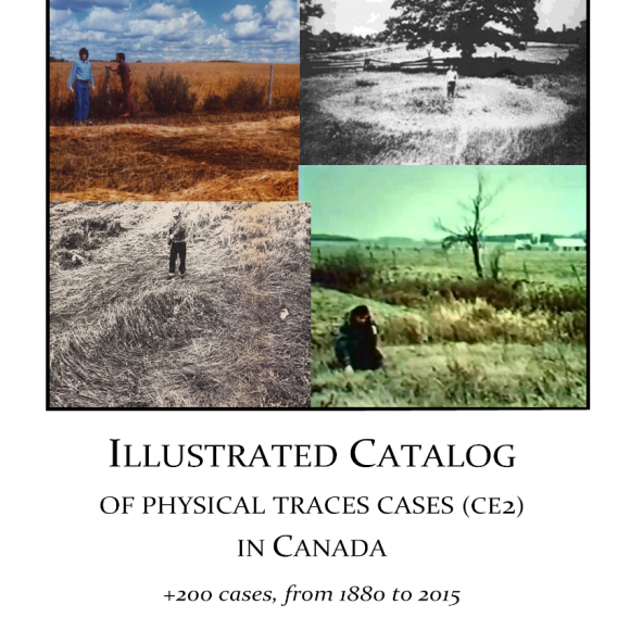 Illustrated Catalog of physical traces cases (CE2) of Canada », including 200 cases from 1880 to 2015, by GARPAN Publishing...2